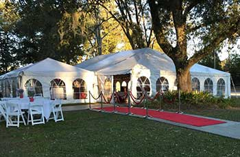 Party and special event rentals at Cole's Rental World serving St. Tammany Parish