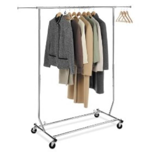 rack wrought boutique round clothing clothes subastral iron garment racks