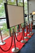 Rental store for SILVER STANCHIONS   RED ROPE in Covington LA