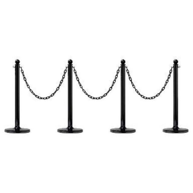 Where to find Black Stanchions Set in Covington