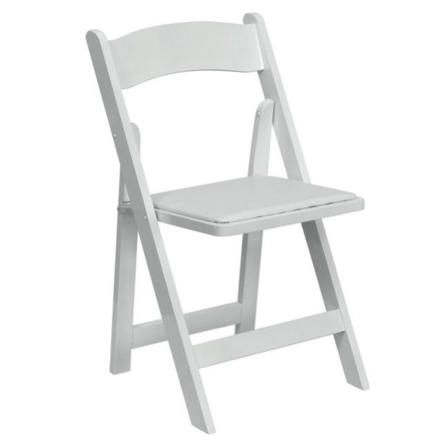 Where to find CHAIRS, WHITE PADDED in Covington