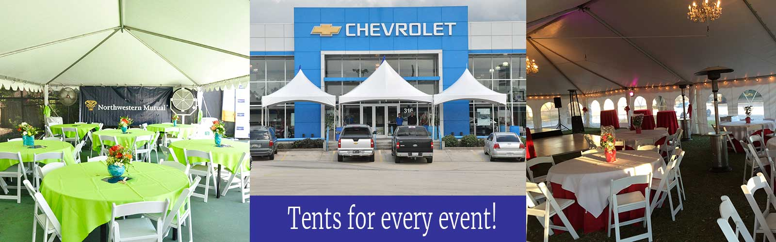 Event rentals in St. Tammany Parish